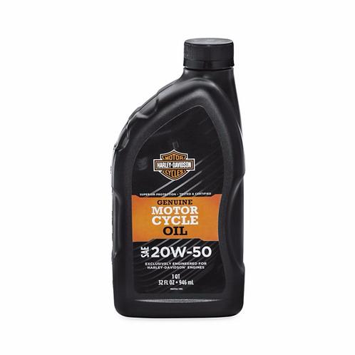 Harley Davidson Motorcycle Oil 20W50