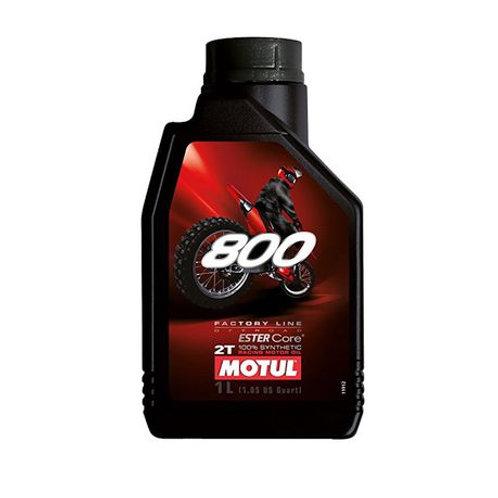 Motul  2-Stroke  800  Racing Motor Oil  1L