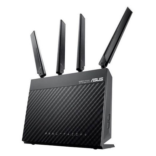 Asus (4G-AC68U) AC1900 (600+1300) Wireless Dual Band 4G LTE Router, 4-Port, WAN