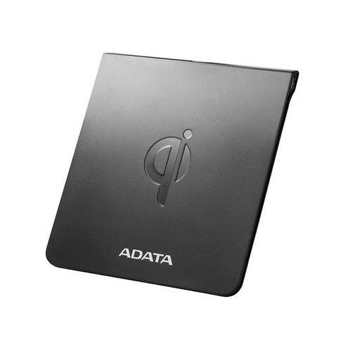 ADATA CW0050 Wireless Qi-Certified Charging Pad, 5W, Ultra-Thin, Micro USB, Bla