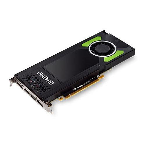 PNY Quadro P4000 Professional Graphics Card, 8GB DDR5, 4 DP 1.4 (4 x DVI adapte