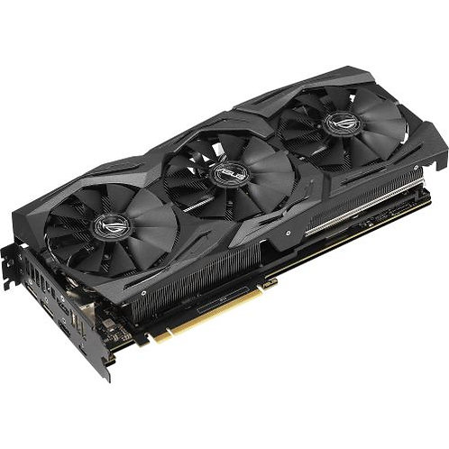 Asus ROG STRIX RTX2070, 8GB DDR6, 2 HDMI, 2 DP, USB-C, 1650MHz, RGB Lighting