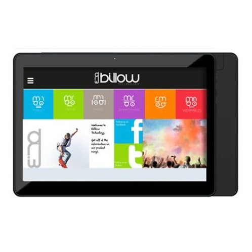 "Billow X101 V2 Tablet, 10.1"" IPS, Quad Core, 1GB, 8GB, WiFi, Android 7.1, Black"