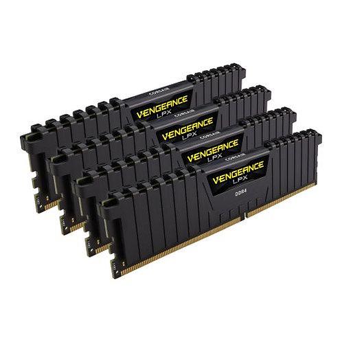 Corsair Vengeance LPX 32GB Kit (4 x 8GB), DDR4, 3000MHz (PC4-24000), CL15, XMP