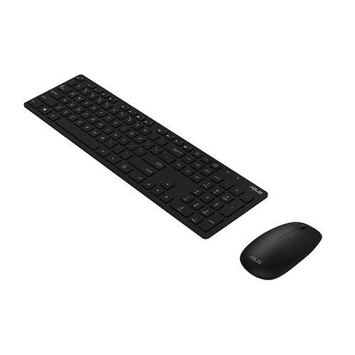 Asus W5000 Wireless Keyboard and Mouse Desktop Kit, Multimedia, Low Profile, 16