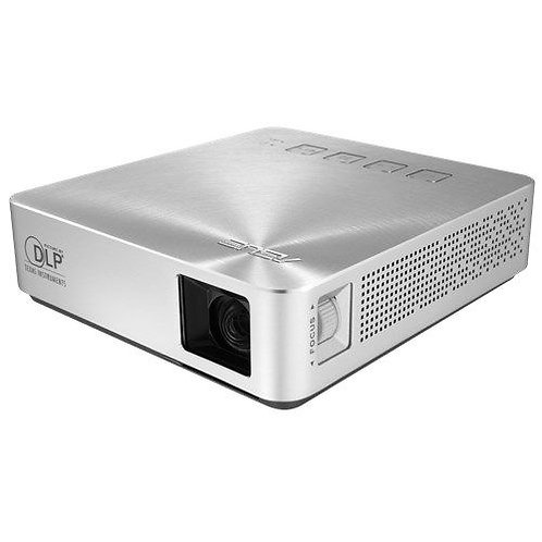 Asus S1 Portable DLP LED Projector, 854 x 480, 16:9, HDMI, MHL, 200 Lumens, 600