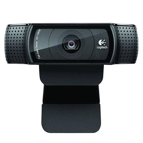 Logitech C920 Webcam, 15MP, HD 1080P, Mic, HD Video Calling, Auto Light Correct