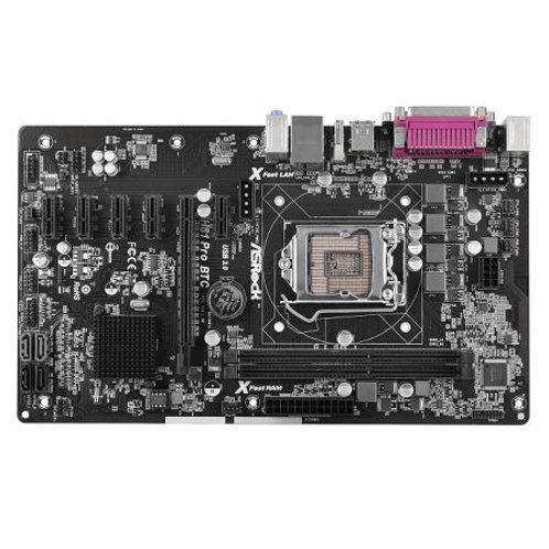 Asrock H81 Pro BTC 2.0, Intel H81, 1150, ATX, 6 PCIe, Extra 4-pin Power