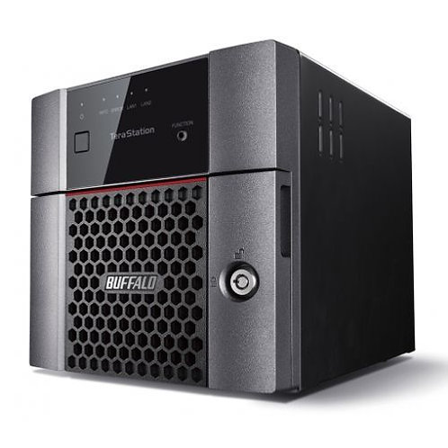 Buffalo 8TB TeraStation 3210DN Business Class NAS Drive, (2 x 4TB), RAID 0, 1,