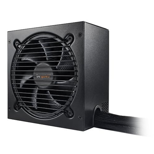 Be Quiet! 500W Pure Power 10 PSU, Rifle Bearing Fan, 80+ Silver, Cont. Power