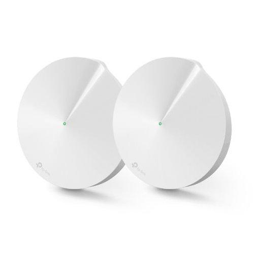 TP-LINK (DECO M9 PLUS) Smart Home Mesh Wi-Fi System, 2 Pack, Tri Band AC2200, B
