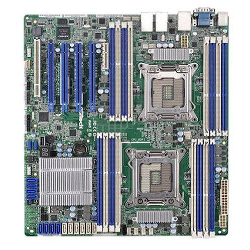Asrock Rack EP2C602-4L/D16 Server Board, Intel C602, 2011, SSI EEB, Quad GB LAN