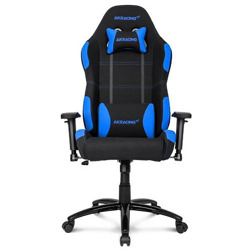 AKRacing Core Series EX Gaming Chair, Black & Blue, 5/10 Year Warranty