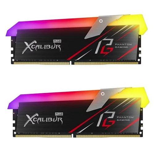 Asrock T-FORCE XCALIBUR Phantom RGB LED 16GB Kit (2 x 8GB), DDR4, 3200MHz (PC4-