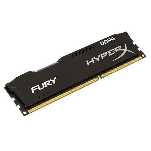 HyperX Fury Black 16GB, DDR4, 2666MHz (PC4-21330), CL16, XMP 2.0, DIMM Memory