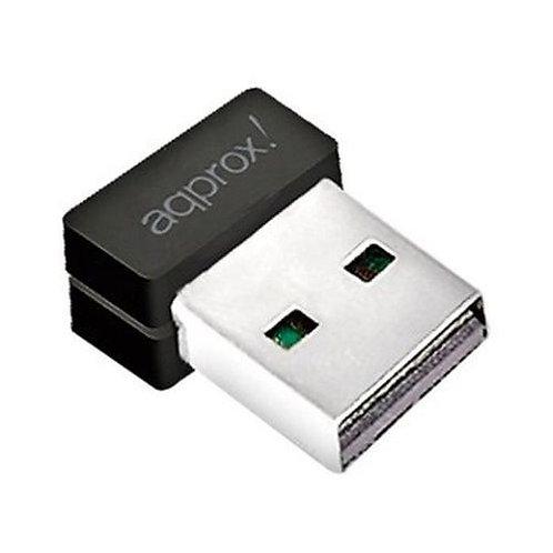 Approx (APPUSB600NANO V2) AC600 (433+150) Wireless Dual Band Nano USB Adapter,
