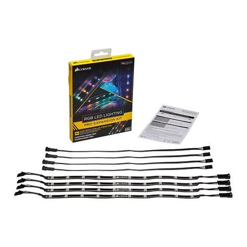 Corsair RGB LED Lighting PRO Expansion Kit, 4 x Individually Addressable RGB LE