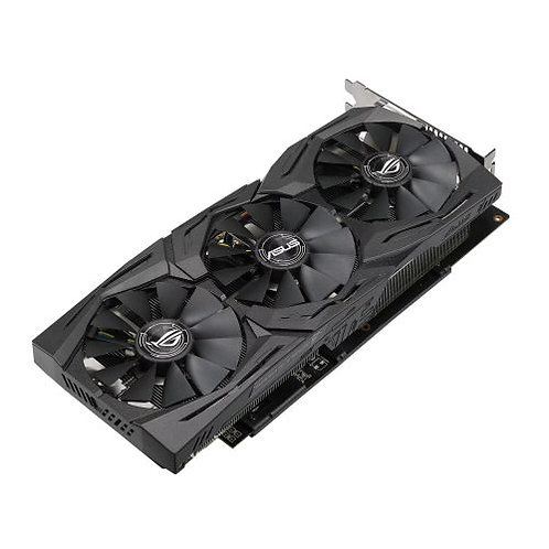 Asus Radeon ROG STRIX RX580 TOP, 8GB DDR5, DVI, 2 HDMI, 2 DP, 1431 MHz Clock, R