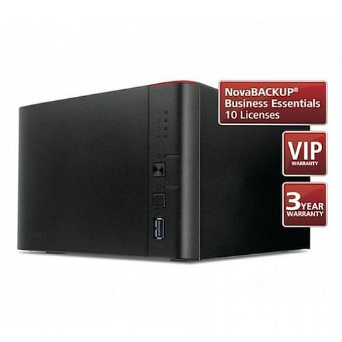 Buffalo 12TB TeraStation 1400 Business Class NAS Drive (4 x 3TB), NovaBACKUP, 2