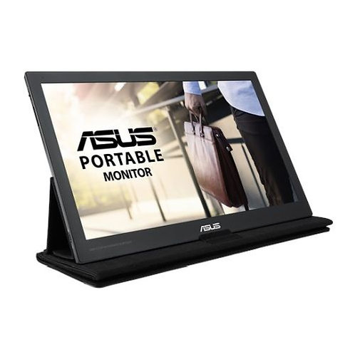 "Asus 15.6"" Portable IPS Monitor (MB169C+), 1920 x 1080, USB Type-C, USB-powered"
