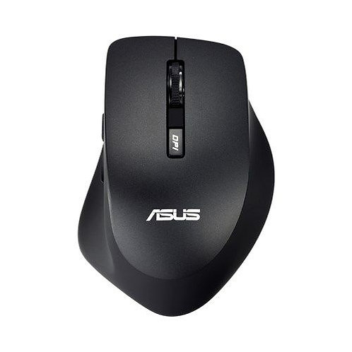 Asus WT425 Wireless Optical Mouse, 1000/1600 DPI, Black
