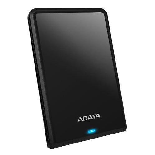 "ADATA 1TB HV620S Slim External Hard Drive, 2.5"", USB 3.1, 11.5mm Thick, Black"