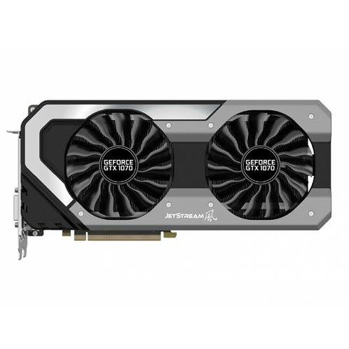Palit GTX1070 Super JetStream, 8GB DDR5, PCIe3, DVI, HDMI, 3 DP, 1835MHz, RGB L