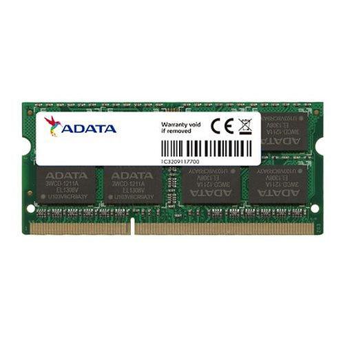 ADATA Premier 8GB, DDR3, 1600MHz (PC3-12800), CL11, SODIMM Memory, Single Rank