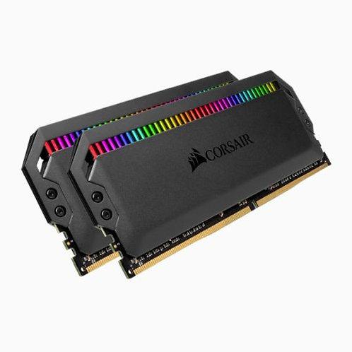 Corsair Dominator Platinum RGB 16GB Kit (2 x 8GB), DDR4, 3000MHz (PC4-24000), C