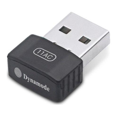 Dynamode (WL-AC-600M) AC600 Wireless Dual Band Nano USB Adapter, 2.4GHz and 5GH