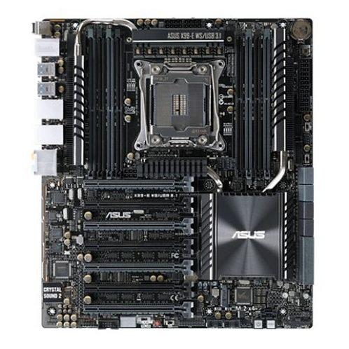 Asus X99-E WS/USB3.1, Workstation, Intel X99, 2011-3, CEB, DDR4, Dual GB LAN, X