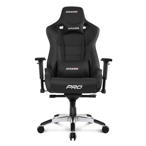 AKRacing Masters Series Pro Gaming Chair, Black, 5/10 Year Warranty
