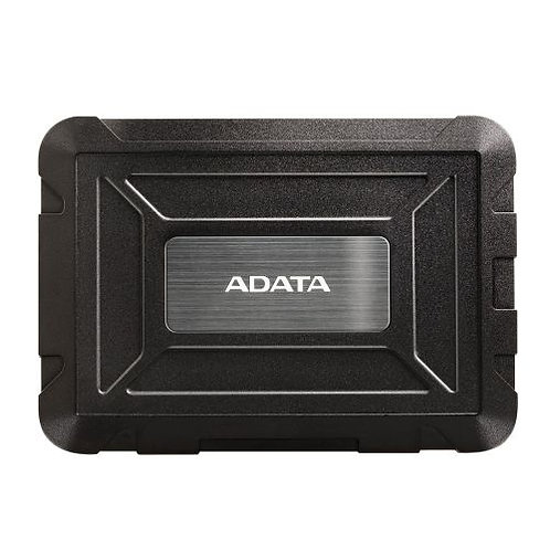 "ADATA ED600 2.5"" SATA Hard Drive Caddy, USB 3.1, USB Powered, IP54 Water, Dust"