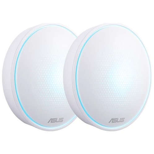 Asus LYRA Mini (MAP-AC1300) Whole-Home Mesh Wi-Fi System, 2 Pack, Dual Band AC1
