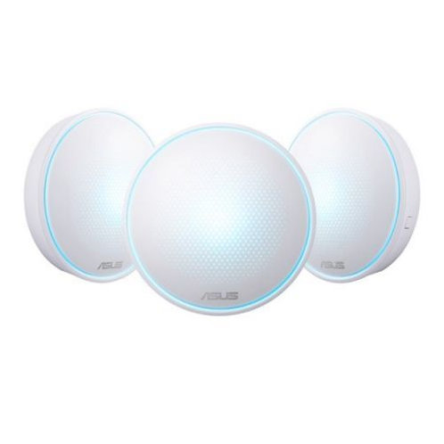 Asus LYRA Mini (MAP-AC1300) Whole-Home Mesh Wi-Fi System, 3 Pack, Dual Band AC1