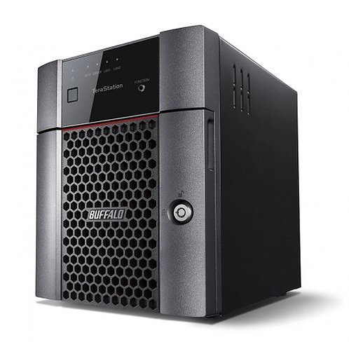 Buffalo 16TB TeraStation 3410DN Business Class NAS Drive, (4 x 4TB), RAID 0, 1,