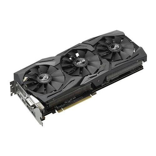 Asus Radeon ROG STRIX RX590 OC, 8GB DDR5, DVI, 2 HDMI, 2 DP, 1565MHz Clock, RGB