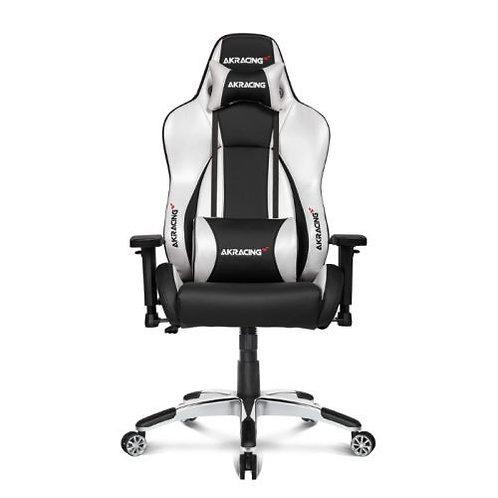 AKRacing Masters Series Premium Gaming Chair, Black & Silver, 5/10 Year Warrant
