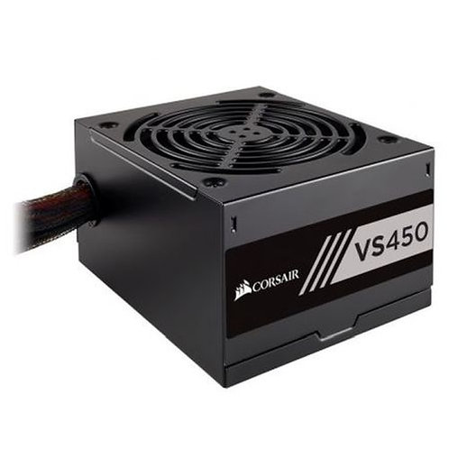 Corsair 450W Builder Series VS450 PSU, Sleeve Bearing Fan, Fully Wired, 80+ Whi