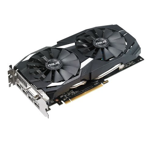 Asus Radeon RX580 DUAL OC, 8GB DDR5, DVI, 2 HDMI, 2 DP, 1380MHz Clock, 0dB Tech
