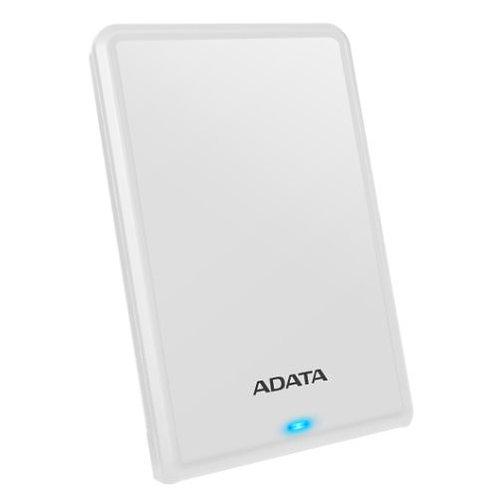 "ADATA 2TB HV620S Slim External Hard Drive, 2.5"", USB 3.1, 11.5mm Thick, White"