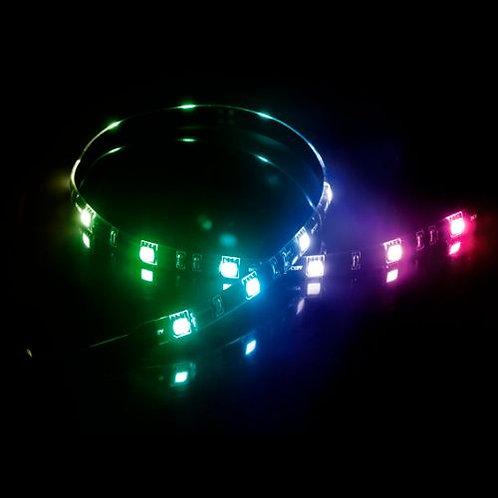 Akasa Vegas MB RGB LED Light Strip, 60cm, 12V, Molex 4 Pin, Magnetic Backing, A