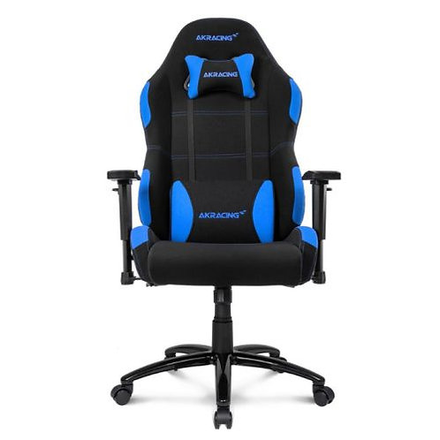AKRacing Core Series EX-Wide Gaming Chair, Black & Blue, 5/10 Year Warranty