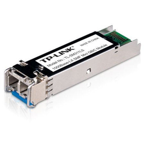 TP-LINK (TL-SM311LS) MiniGBIC Single-Mode Fiber Module, 10km, 1310nm Wave