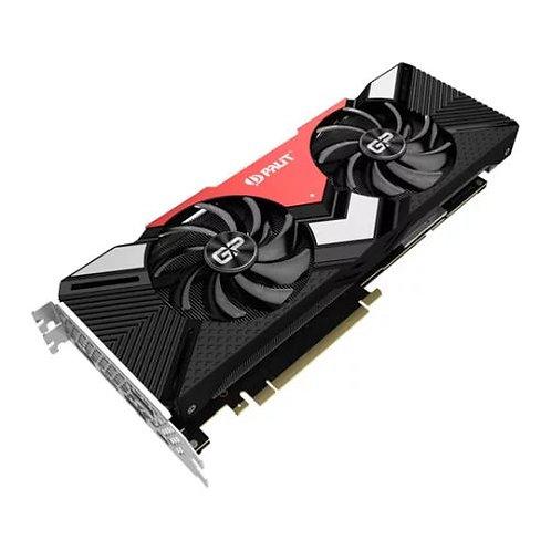 Palit RTX2080 GamingPro OC, 8GB DDR6, HDMI, 3 DP, USB-C, 1815MHz Clock, RGB Lig