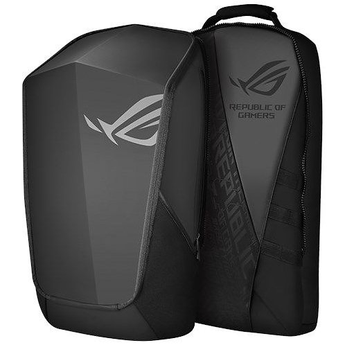 "Asus ROG Ranger 2-in-1 Backpack , Up to 17"" Laptops, Detachable Front & Rear Co"