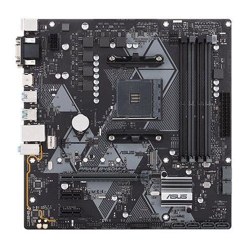 Asus PRIME B450M-A/CSM - Corporate Stable Model, AMD B450, AM4, Micro ATX, 4 DD