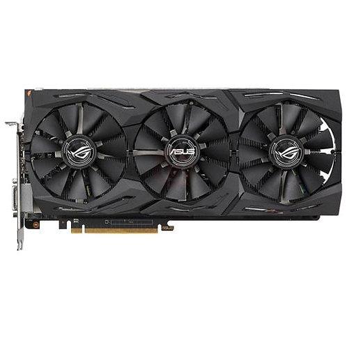 Asus Radeon ROG STRIX RX VEGA56 OC, 8GB HBM2, DVI, 2 HDMI, 2 DP, 1573MHz Clock,