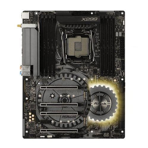 Asrock X299 TAICHI XE, Intel X299, 2066, ATX, 8 DDR4, SLI/XFire, Wi-Fi, Dual LA