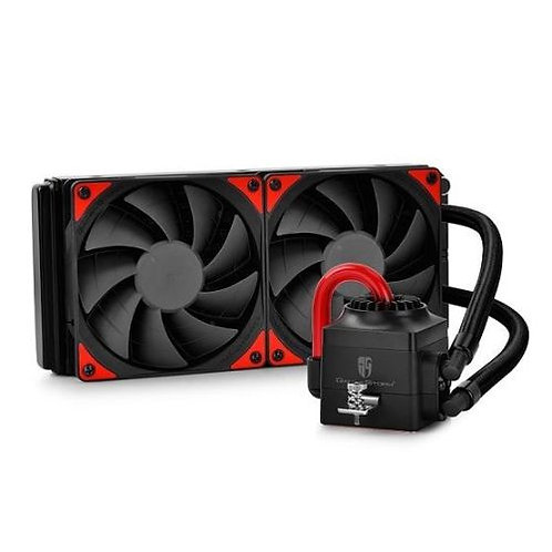 Deepcool GamerStorm Captain 240EX Liquid CPU Cooler, 240mm Radiator, 2 x 12cm F
